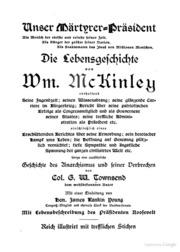 Die Lebensgeschichte von Wm. McKinley book image