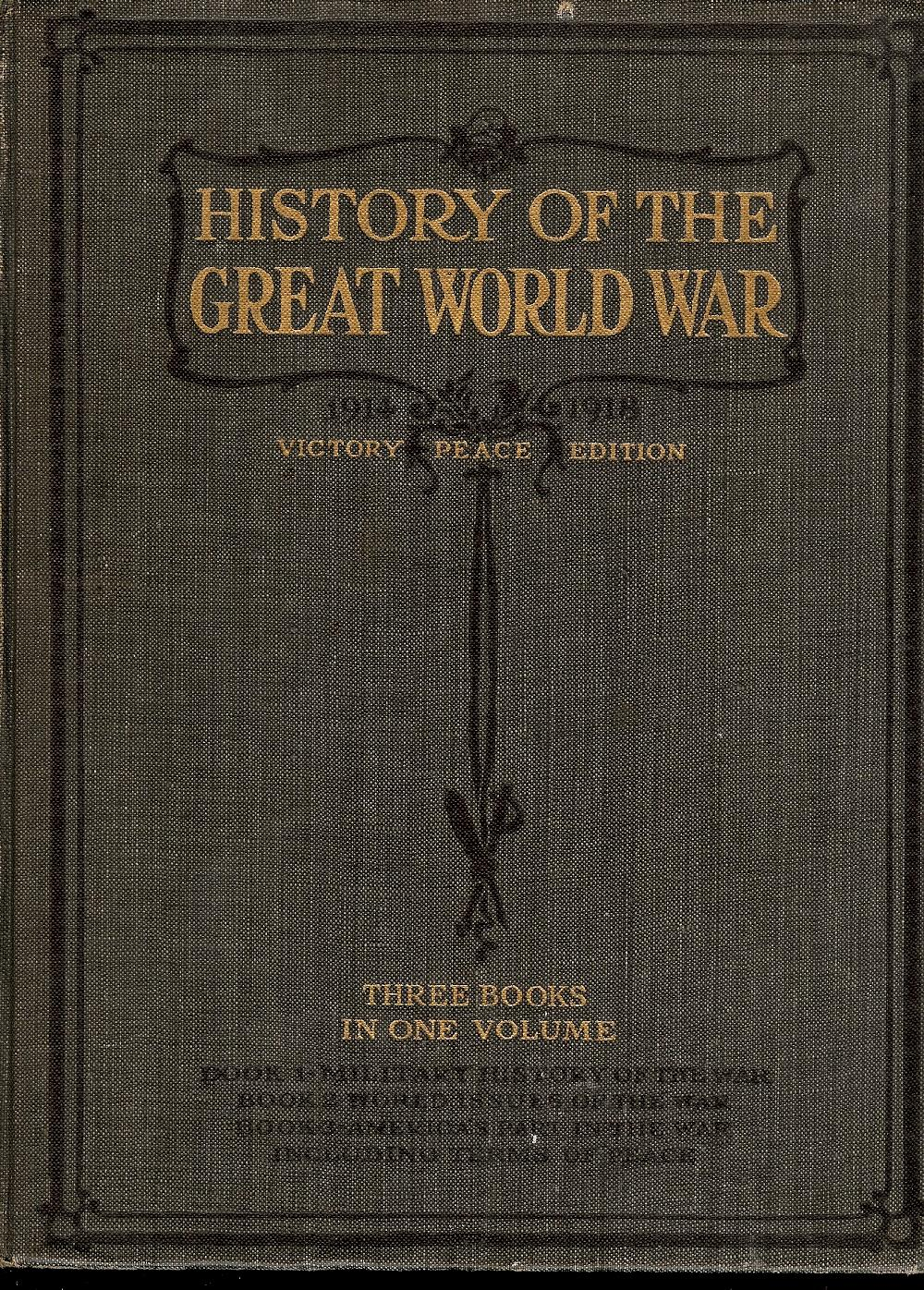 History of the Great World War book image